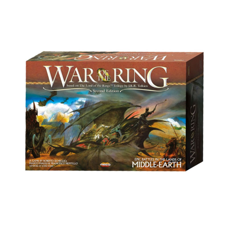 บอร์ดเกม The lord of the ring War of the ring Board Game