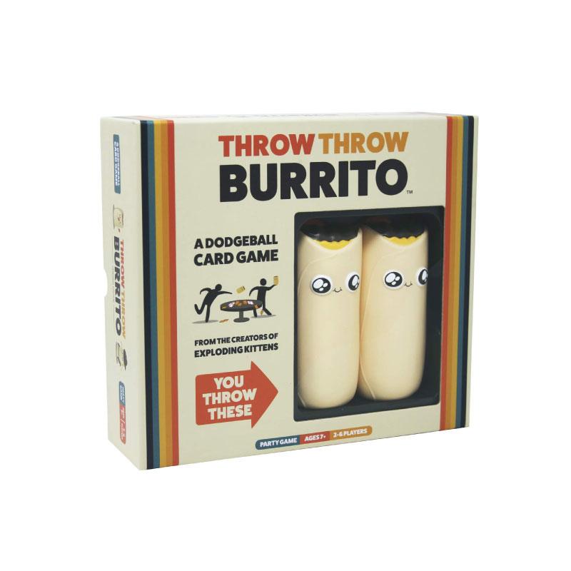 บอร์ดเกม Throw Throw Burrito Board Game