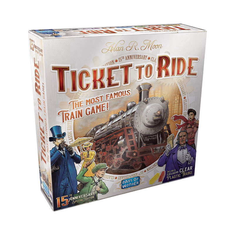บอร์ดเกม Ticket To Ride 15th Anniversary Edition Board Game