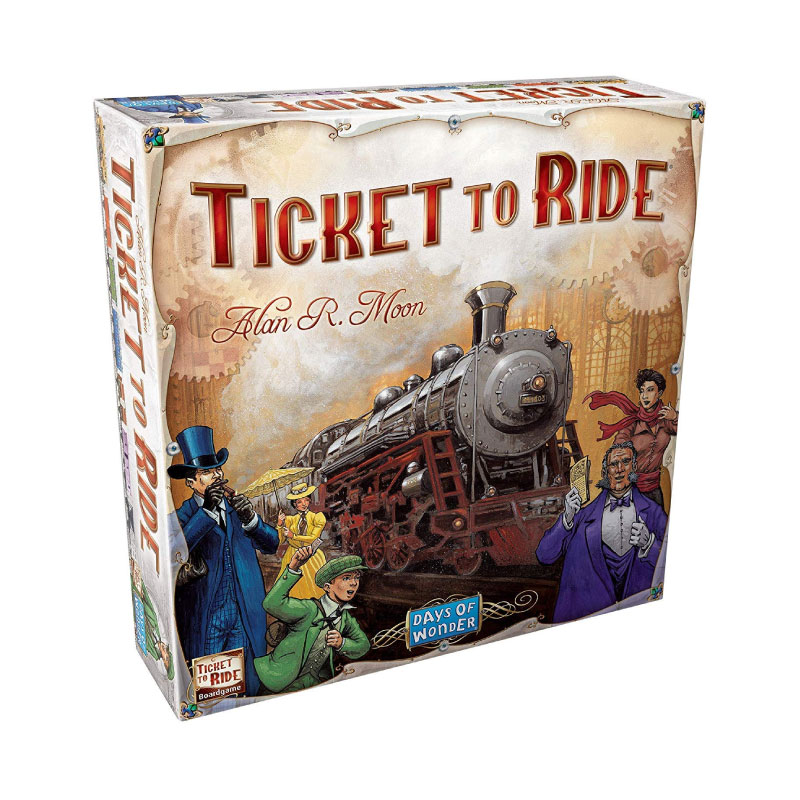 บอร์ดเกม Ticket to ride Board Game