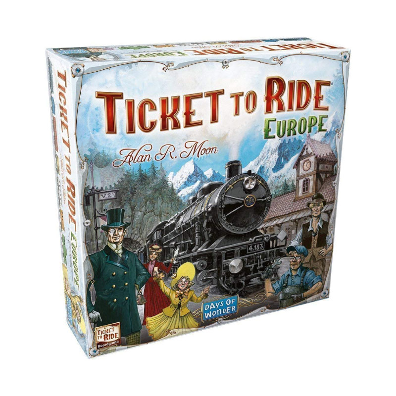 บอร์ดเกม Ticket to ride EU Board Game
