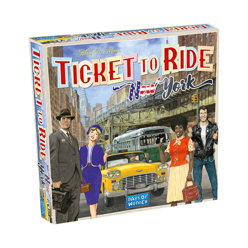 บอร์ดเกม Ticket to ride New York Board Game