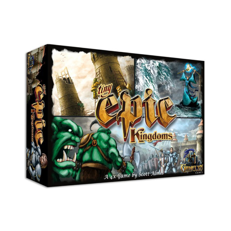บอร์ดเกม Tiny Epic Kingdom Board Game