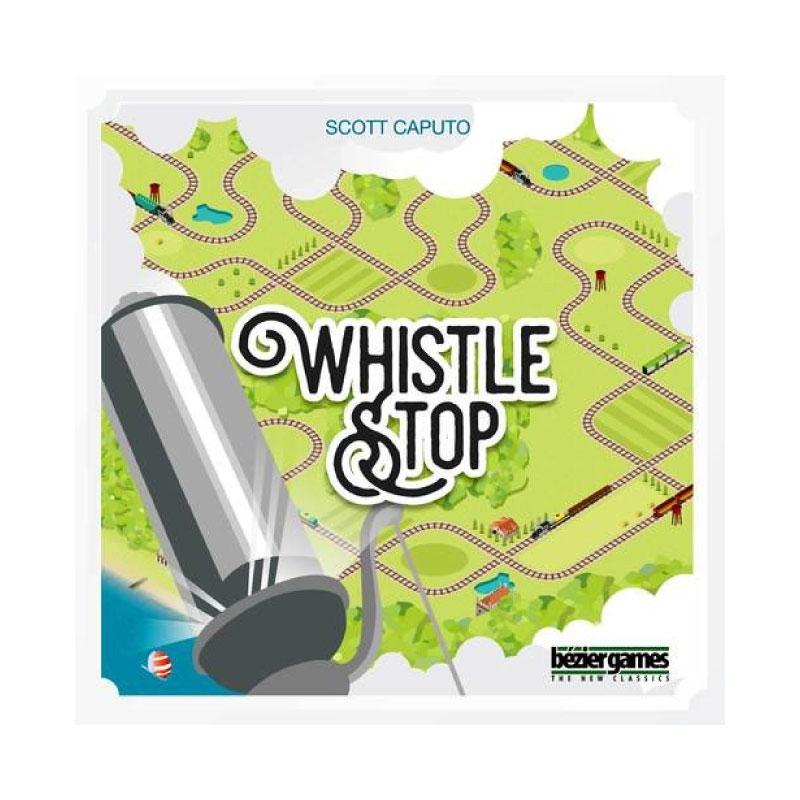 บอร์ดเกม Whistle stop Board Game