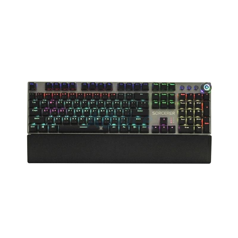 คีย์บอร์ด Nubwo X Sorcerer X28 RGB Mechanical Keyboard