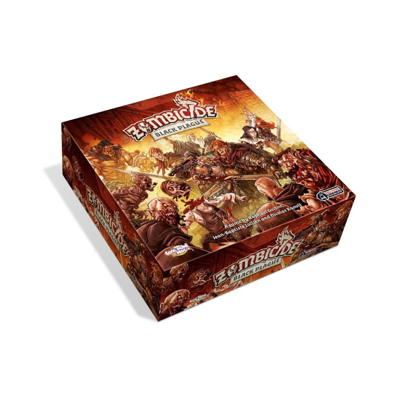 บอร์ดเกม Zombicide Black plague Board Game