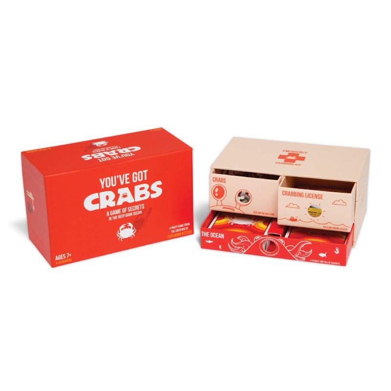 บอร์ดเกม You've got crab Board Game