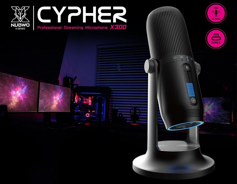 ไมโครโฟน Nubwo NUB-X300 Microphone รีวิว