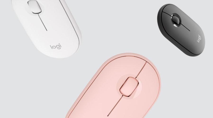 เมาส์ไร้สาย Logitech Pebble M350 Wireless ราคา