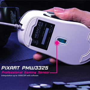 เมาส์ Nubwo X53 Gaming Mouse คุ้มค่า