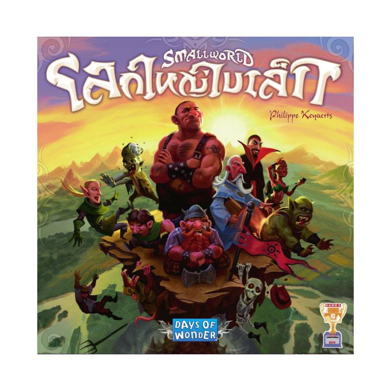 บอร์ดเกม โลกใหญ่ใบเล็ก Small World Board Game