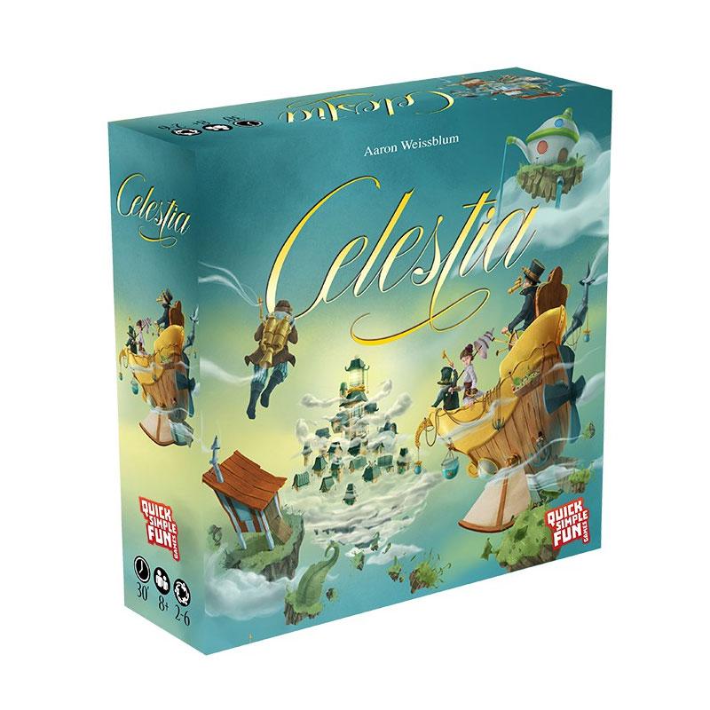 บอร์ดเกม เซเลสเทีย Celestia Board Game