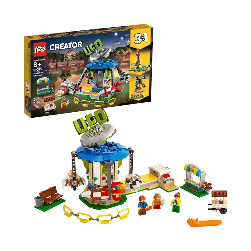 Lego Creator 31095 3in1 Fairground Carousel