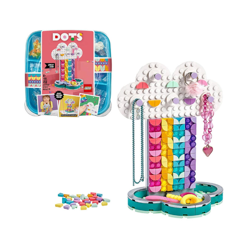 Lego DOTS 41905 Rainbow Jewellery Stand