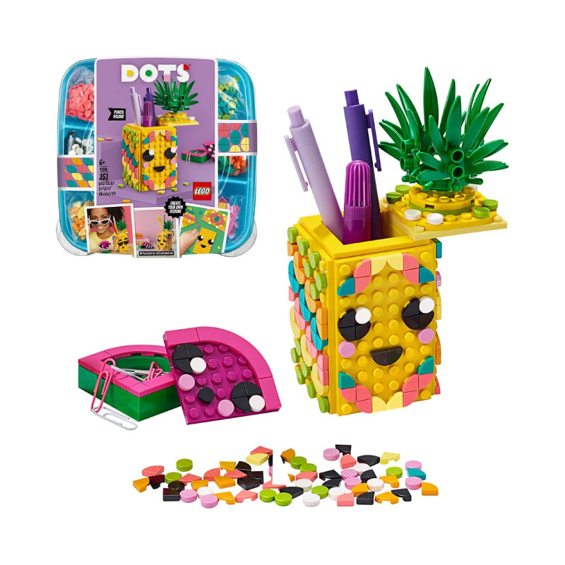 Lego DOTS 41906 Pineapple Pencil Holder