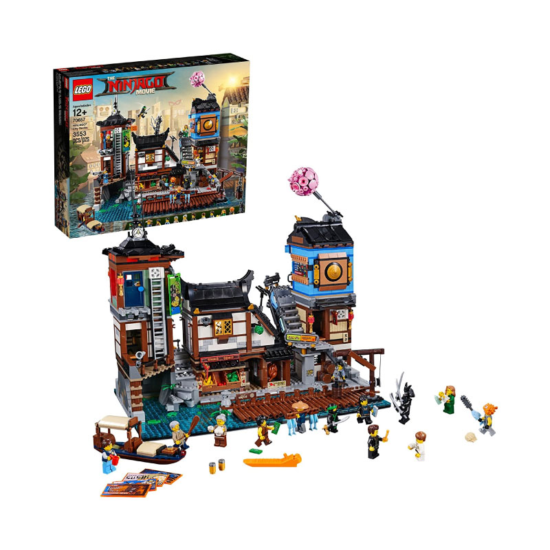 Lego Ninjago 70657 Movie Ninjago City Docks