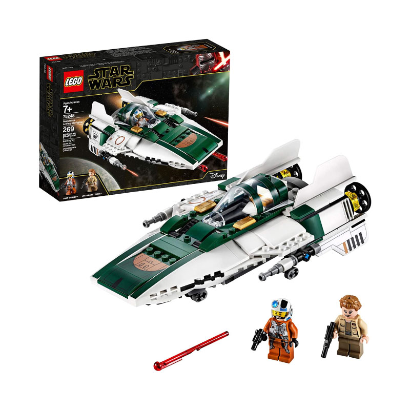 Lego Star Wars: The Rise of Skywalker 75248 Resistance A Wing Starfighter