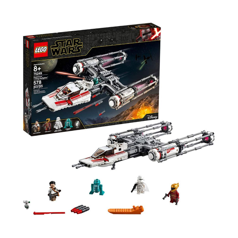 Lego Star Wars: The Rise of Skywalker 75249 Resistance Y-Wing Starfighter