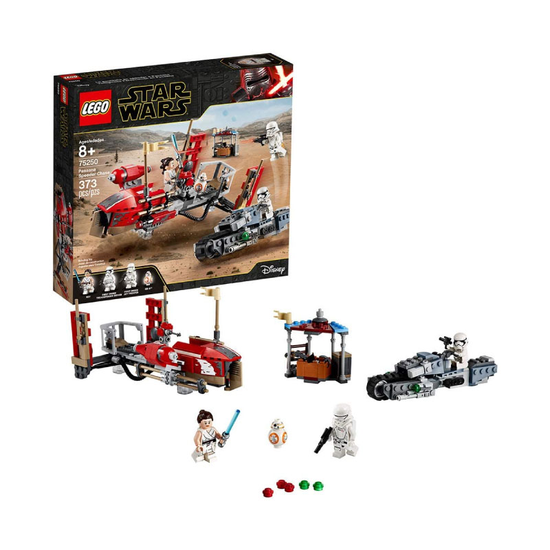 Lego Star Wars: The Rise of Skywalker 75250 Pasaana Speeder Chase