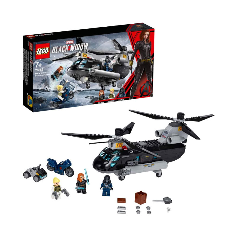 Lego Marvel Super Heroes 76162 Black Widow's Helicopter Chase