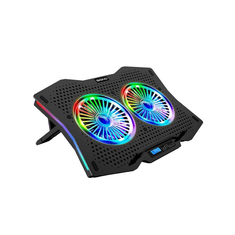 แท่นระบายความร้อน Signo CP-510 RGB Coolingpad