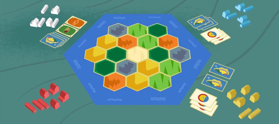 บอร์ดเกม Catan Board game ราคา