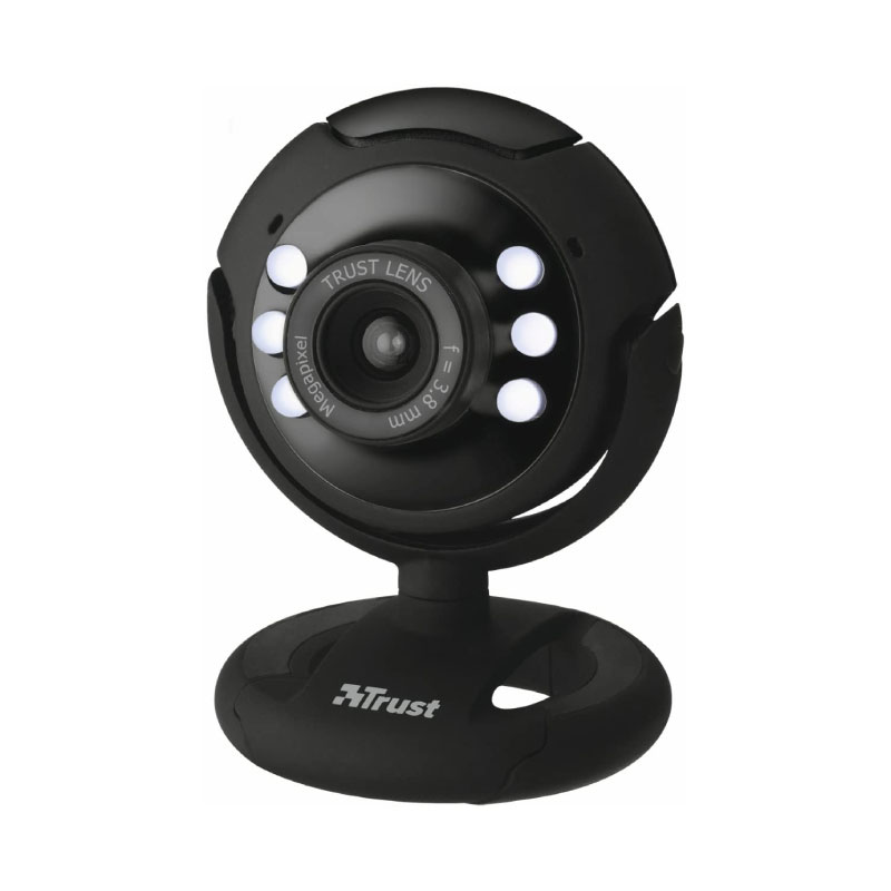 กล้อง Trust SPOTLIGHT PRO Webcam With LED Lights