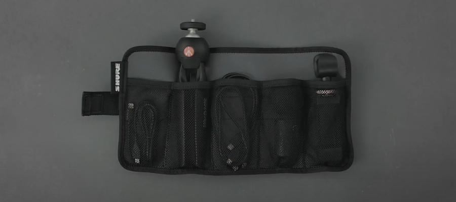 ไมโครโฟน Shure MV88+ Video Kit with Digital Stereo Condenser Microphone ในกล่อง