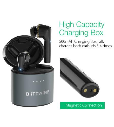 หูฟังไร้สาย Blitzwolf FYE8 True Wireless เชื่อมต่อเสถียร