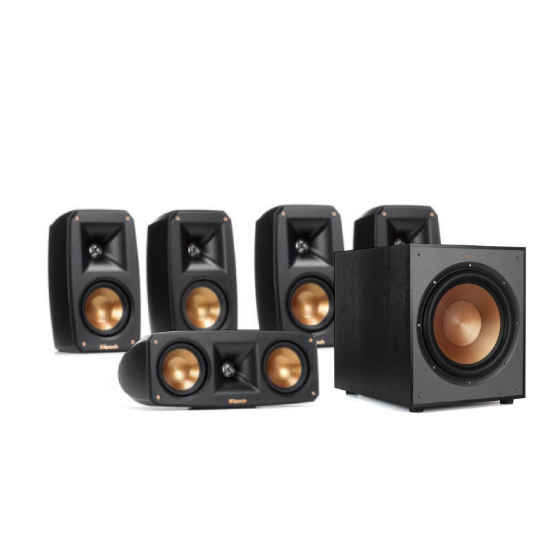 ชุดลำโพง Klipsch Theater Pack 5.0 + R-120SW