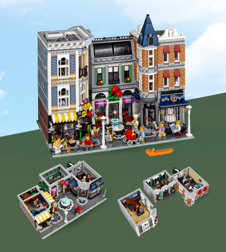 Lego Modular Buildings Assembly Square (10255) ราคา