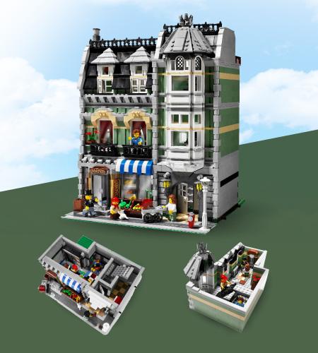Lego Modular Buildings Green Grocer (10185) ราคา
