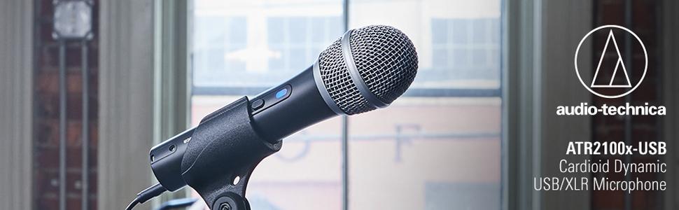ไมโครโฟน Audio-Technica ATR2100X-USB Microphone ราคา