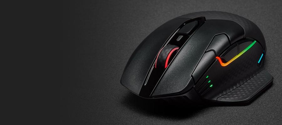รีวืว เมาส์ Corsair DARK CORE RGB PRO Wireless Mouse
