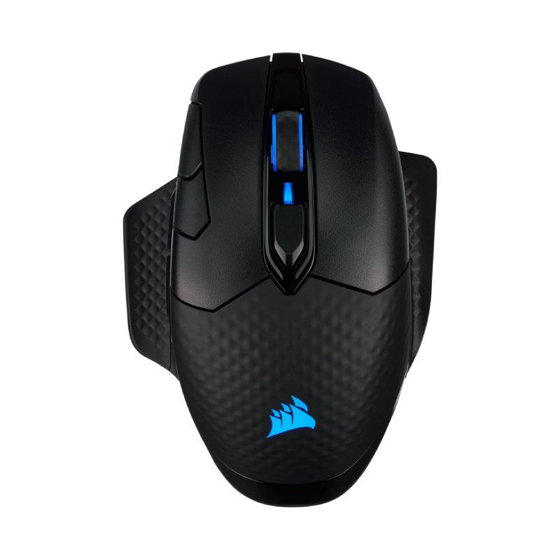เมาส์ Corsair DARK CORE RGB PRO Wireless Mouse