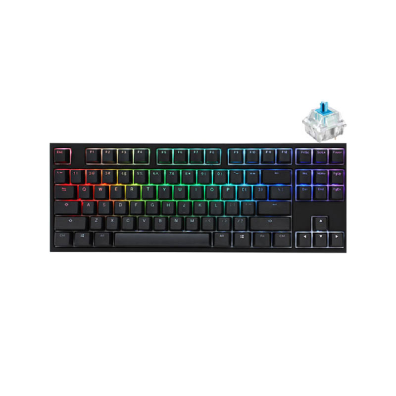 คีย์บอร์ด Ducky One 2 TKL RGB Mechanical Keyboard