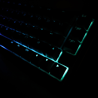 คีย์บอร์ด Ducky One 2 SF RGB Mechanical Keyboard ไฟ