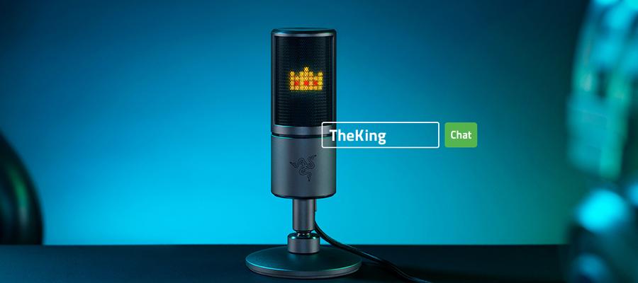 ไมโครโฟน Razer Seiren Emote Streaming Microphone ราคา