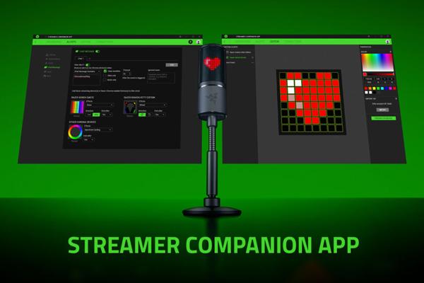ไมโครโฟน Razer Seiren Emote Streaming Microphone ใช้ทำอะไร