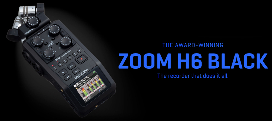 Zoom H6 Handy Recorder รีวิว