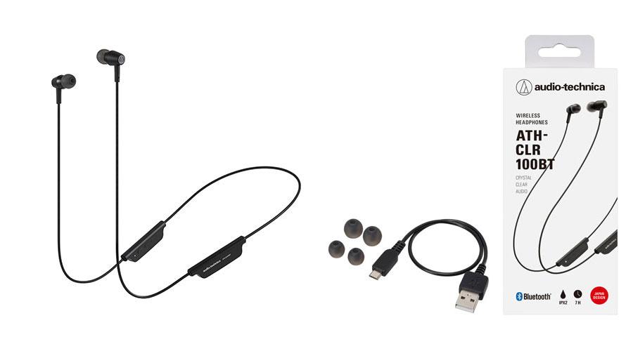 หูฟังไร้สาย Audio-Technica ATH-CLR100BT Bluetooth In-Ear ราคา