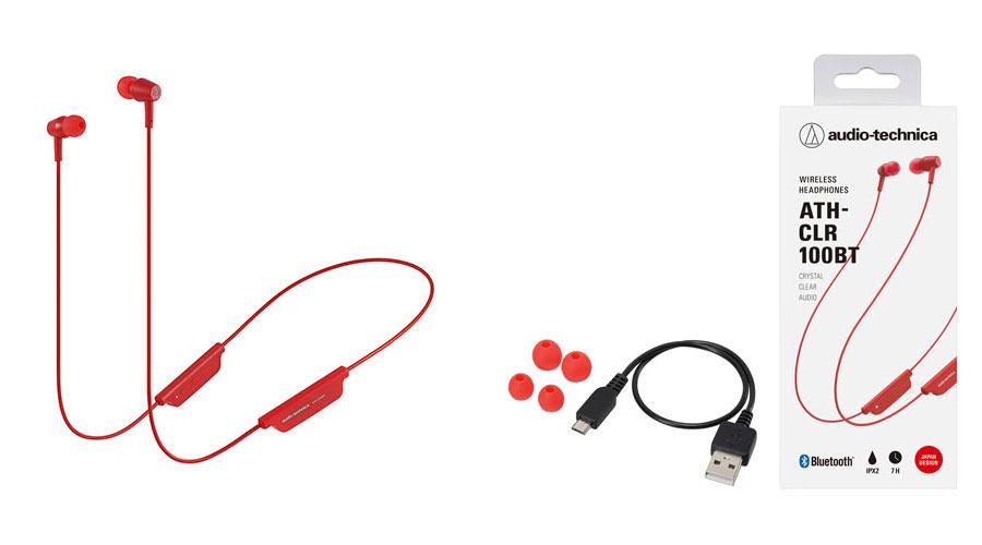 หูฟังไร้สาย Audio-Technica ATH-CLR100BT Bluetooth In-Ear ขาย
