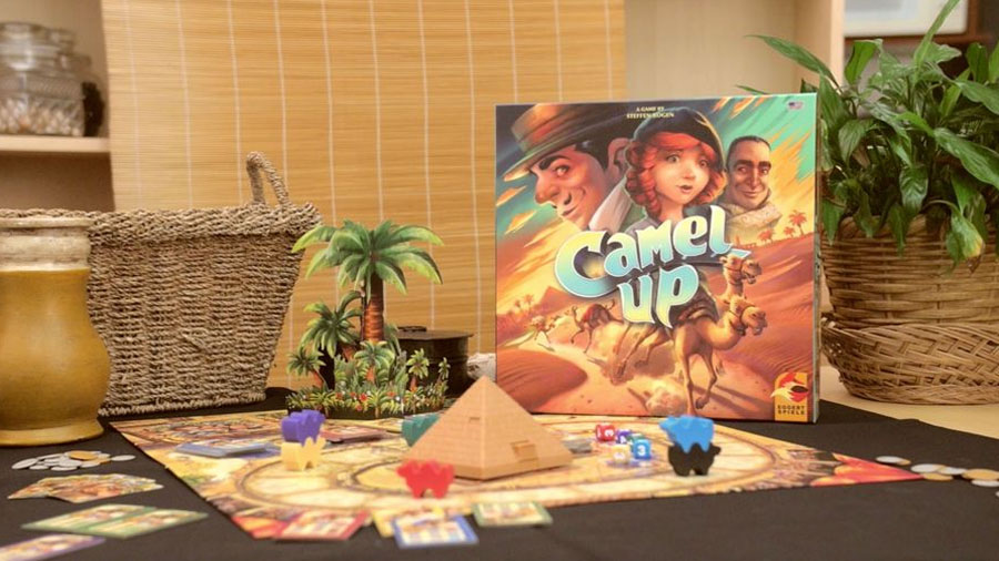บอร์ดเกม Camel Up 2nd Edition Board Game รีวิว