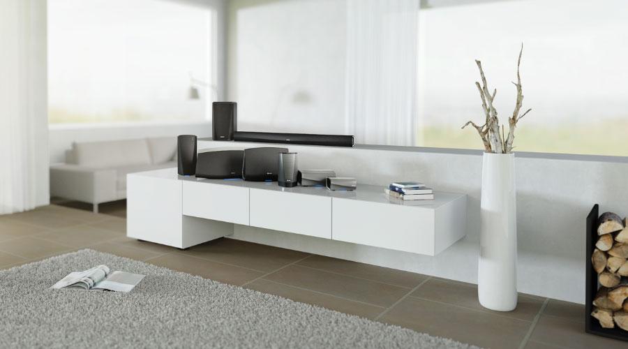 ขาย ลำโพงไร้สาย Denon Heos 5 Wireless Speaker Mercular.com