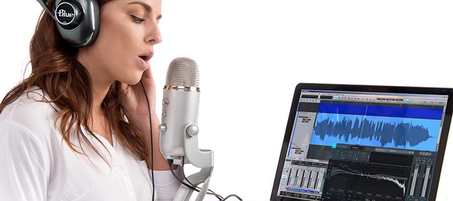 ไมโครโฟน Blue Yeti Studio Microphone การใช้งาน