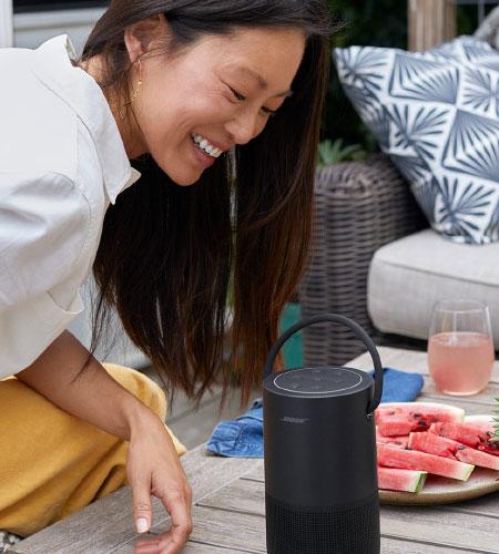 ลำโพง Bose Portable Home Speaker เสียง 360 องศา