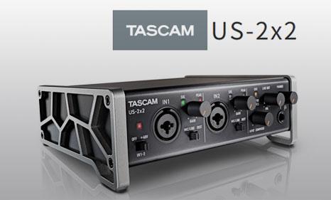 การ์ดเสียง TASCAM US-2X2 ราคา