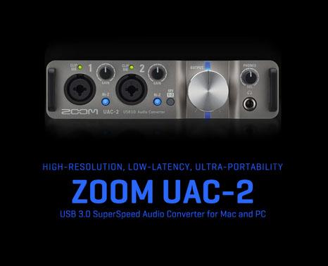 การ์ดเสียง ZOOM UAC-2 ราคา