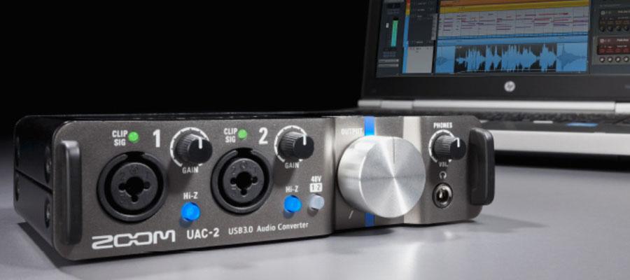 การ์ดเสียง ZOOM UAC-2 รีวิว