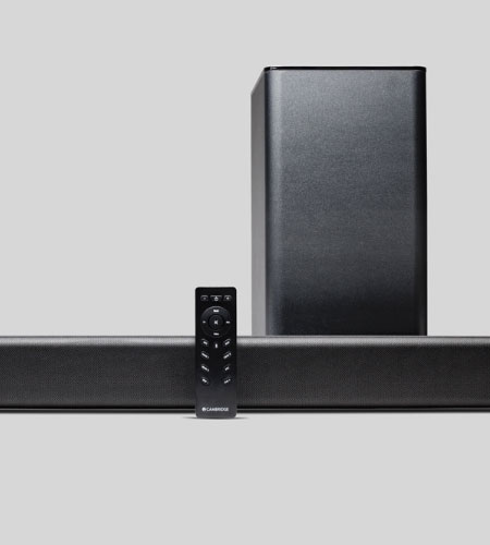 ลำโพง Cambridge Audio TVB2 V2 Soundbar+Subwoofer Speaker คุ้มค่า